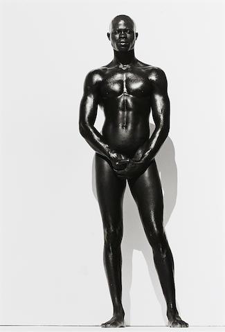 Herb Ritts-Djimon, Full Length, Hollywood-1989