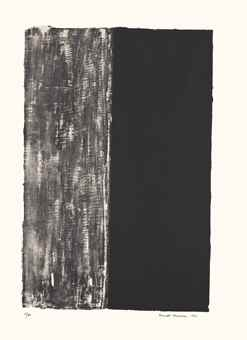 Barnett Newman-Untitled-1961