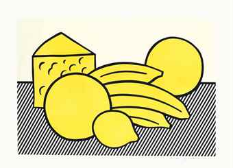 Roy Lichtenstein-Yellow Still Life, from The Six Still Lifes-1974