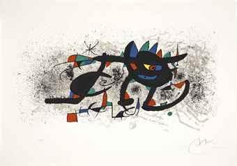 Joan Miro-Gravures Pour une Exposition, Pierre Matisse, New York, 1973-1973