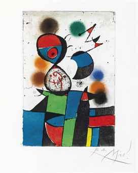 Joan Miro-Gaudi VIII-1979
