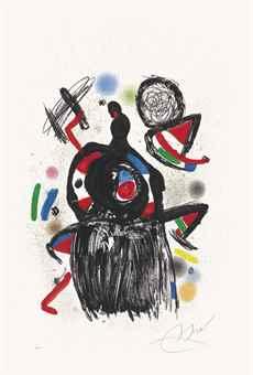 Joan Miro-Colombine Effarouchee-1980