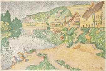 Paul Signac-Les Andelys-1895