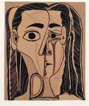 Pablo Picasso-Grande Tete de Femme-1962