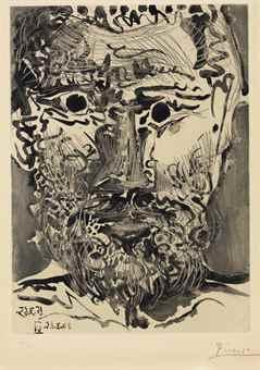 Pablo Picasso-Sable Mouvant: One Plate-1965