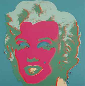 Andy Warhol-Marilyn: One Plate-1967