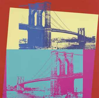 Andy Warhol-Brooklyn Bridge-1983