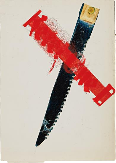 Guyton/Walker-Untitled (Ketel One Knife)-2004