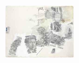Robert Rauschenberg-Political Folly-1968