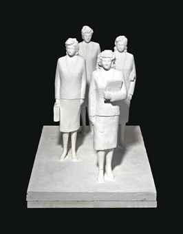Peter Fischli & David Weiss-4 Hostessen (4 Stewardesses)-1988
