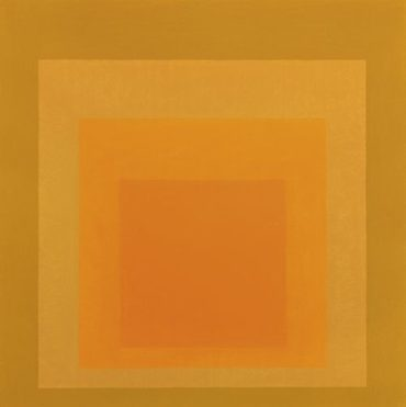 Josef Albers-Homage To The Square: Autumn Climax-1963