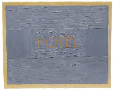 Ed Ruscha-Hotel-1961