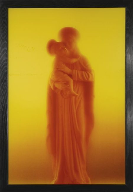 Andres Serrano-Madonna and Child-1989
