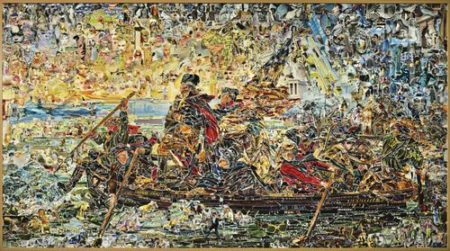 Vik Muniz-Washington Crossing The Delaware, After Emanuel Leutze (Pictures Of Magazines 2)-2012