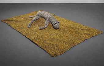 Mike Kelley-Arena #8 (Leopard)-1990