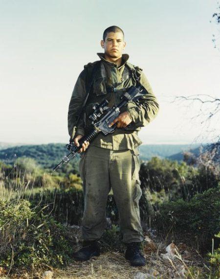 Rineke Dijkstra-Tamar, Golani Brigade, Orev Unit Elyacim, Israel, May 26-1999
