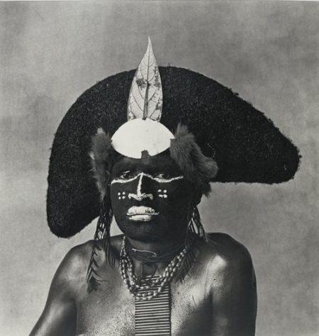 Irving Penn-Enga Warrior-1970