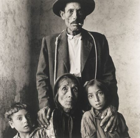 Irving Penn-Gypsy Family (Spain)-1966