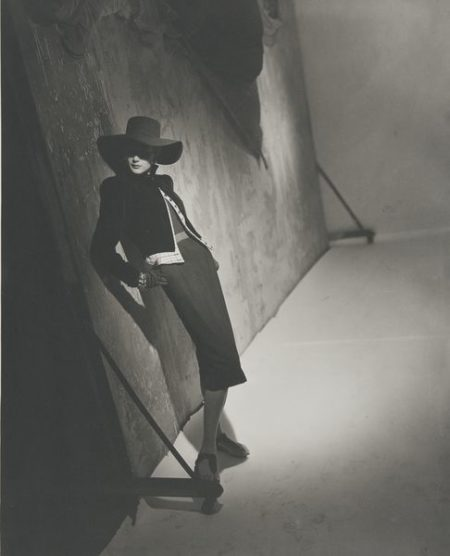 Horst P. Horst-Post WWII Fashion (Black)-1946