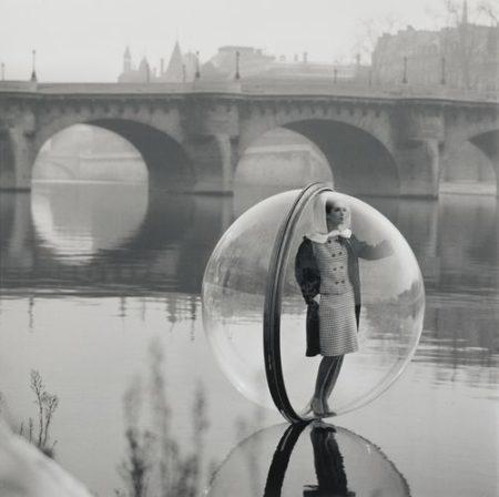 Bubble On The Seine, Paris-1963