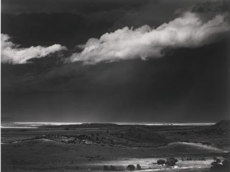 Ansel Adams-Storm Over The Great Plains From Cimarron, New Mexico-1960