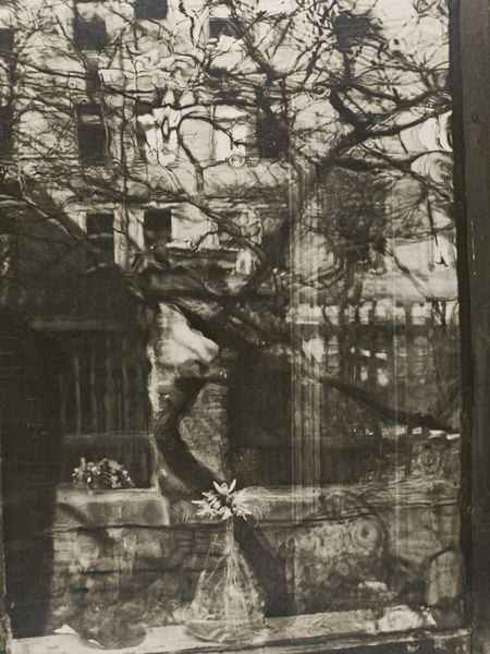 Josef Sudek-Window From Outside, Spring-1951