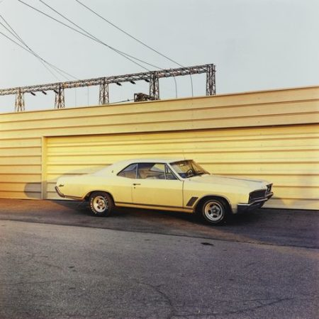 William Eggleston-Untitled (Yellow Car)-1976