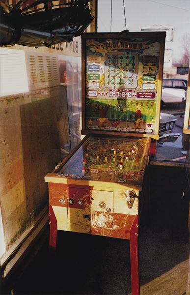 William Eggleston-Flipper, Pin Ball Machine-1980