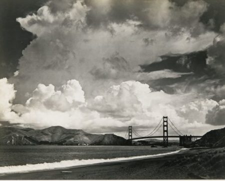 Ansel Adams-The Golden Gate, San Francisco-1950