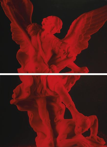 Andres Serrano-St Michael's Blood, Part I And II-1990