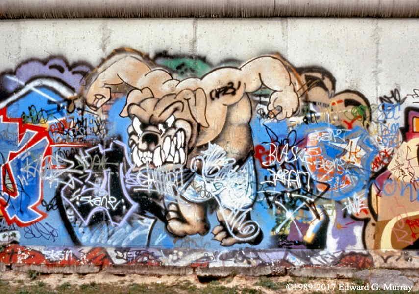 Rhino, paint graffiti in berlin