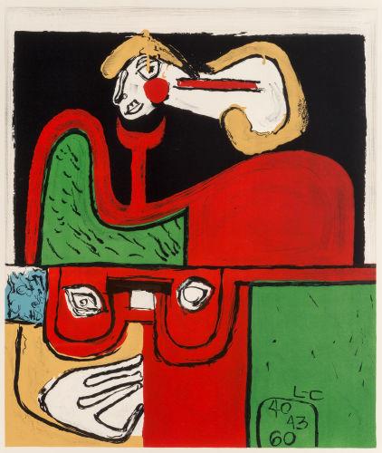 Le Corbusier-Portrait-1960