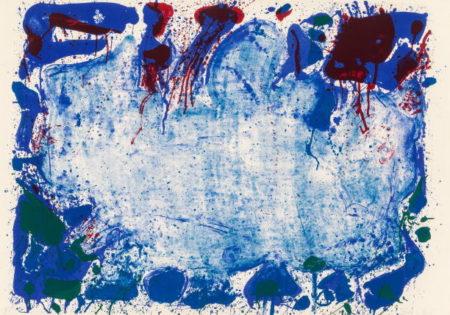 Sam Francis-Happy Death Stone (SF-10)-1960