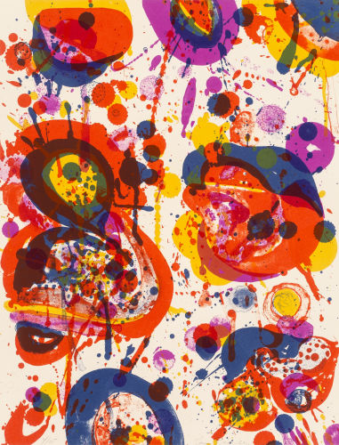Sam Francis-Out of My Coffin (SF-44)-1963