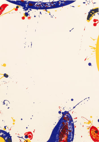 Sam Francis-Surrounded White (SF 58)-1964