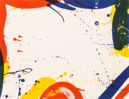 Sam Francis-Untitled, from Portfolio 9-1967