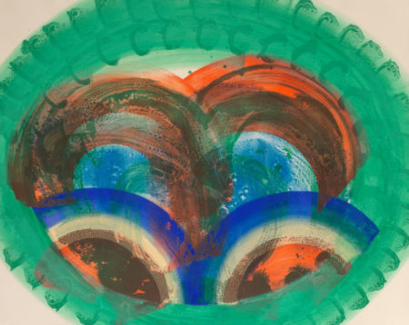 Howard Hodgkin-Red Palm-1986