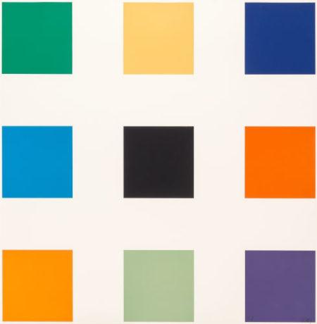 Ellsworth Kelly-Nine Squares-1977