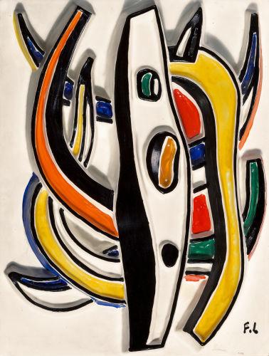 Fernand Leger-After Fernand Leger - Composition abstraite-1950