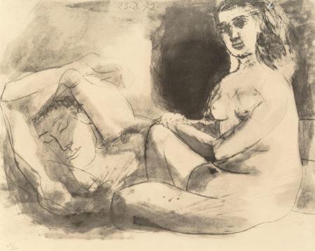 Pablo Picasso-After Pablo Picasso - La Flute Double-