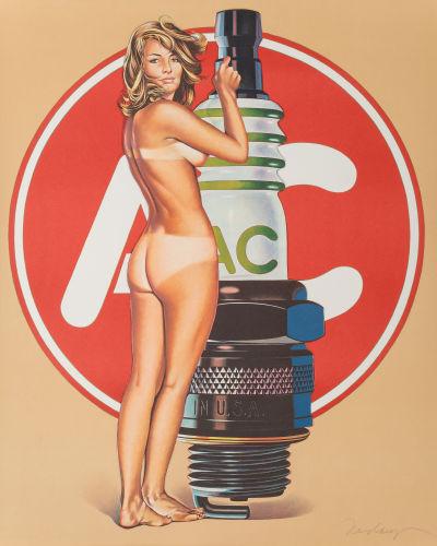 Mel Ramos-AC Annie-1972