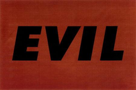 Ed Ruscha-Evil-1973
