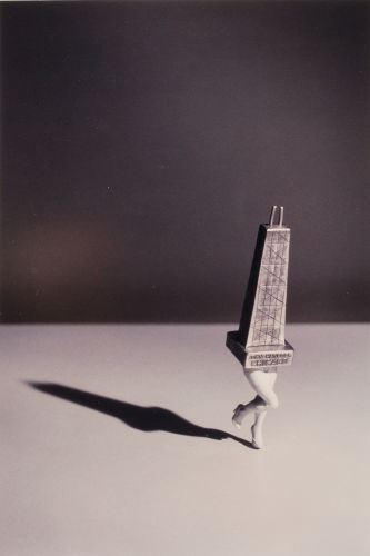 Laurie Simmons-Walking John Hancock (Chicago)-1992