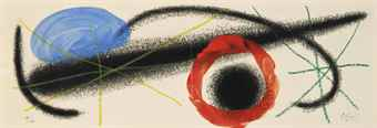 Joan Miro-One plate, from Nous avons-1959