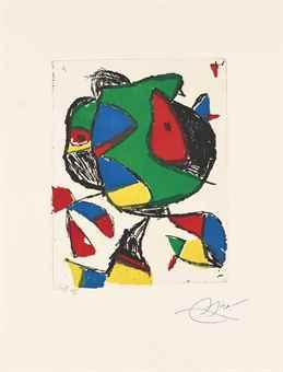 Joan Miro-Barb II-1987