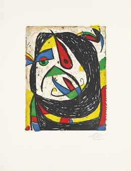 Joan Miro-Barb IV-1987