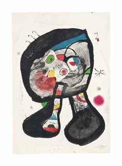 Joan Miro-Le Fantome de l'atelier-1987