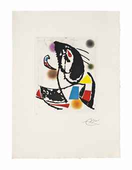 Joan Miro-Les Montagnerds II-1990