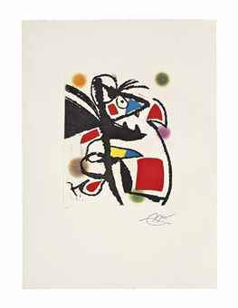 Joan Miro-Les Montagnerds IV-1990