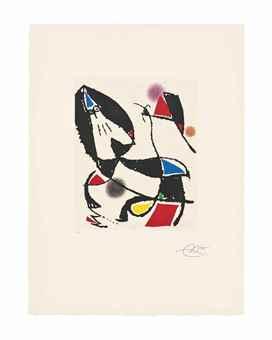 Joan Miro-Les Montagnerds VII-1990